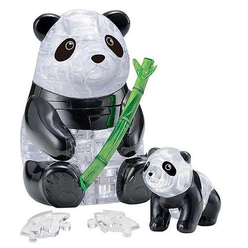 水晶立體 - 熊貓母子 50塊