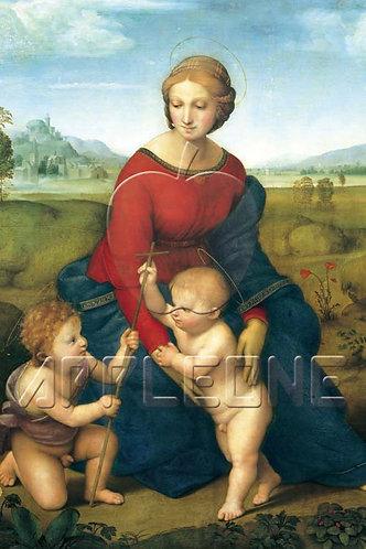拉斐爾 - 草地上的聖母 1000塊 (50×75cm)