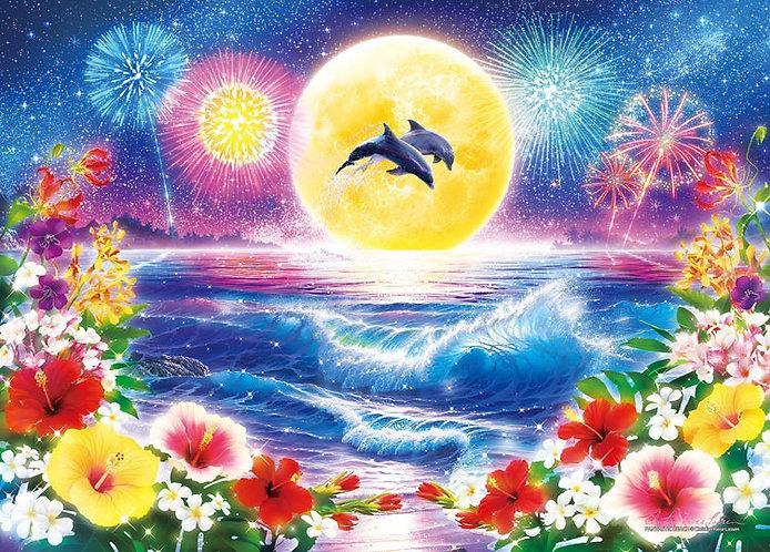 (夜光) Christian Lassen - 夢幻般的海灘 500塊 (38×53cm)