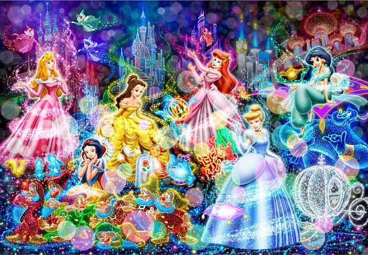 迪士尼 - 迪士尼公主的燦爛夢想 300塊 (30.5×43cm)