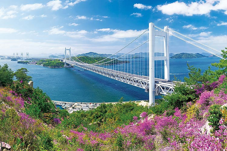 (迷你尺寸) 日本風景 - 瀨戶大橋 2016塊 (50×75cm)