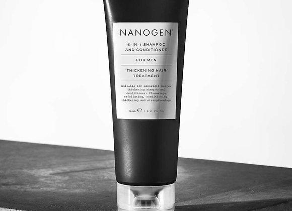 Nanogen 5-In-1 Shampoo and Conditioner for Men