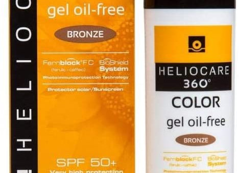 Heliocare 360 Colour Gel Oil-Free Bronze SPF50+ 50ml / Sunscreen For Face
