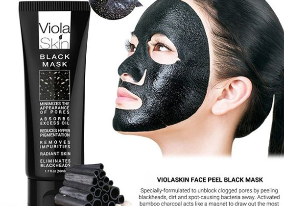 PREMIUM Black Mask - Charcoal Black Face Mask - Blackhead Remover - Eliminates B