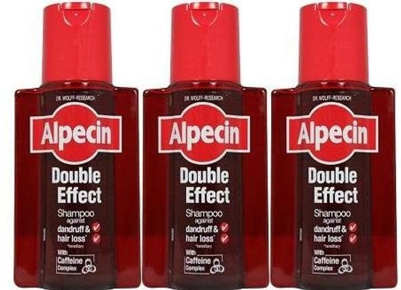 Alpecin Double Effect Shampoo 200ml (Pack of 3)