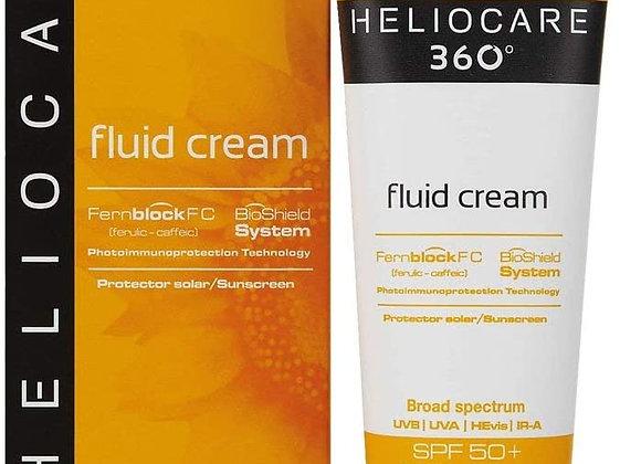 Heliocare 360 Fluid Cream SPF50+ 50ml / Sun Cream For Face