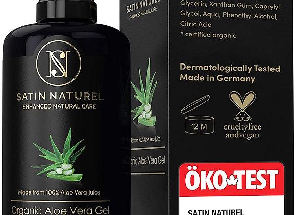 ORGANIC Aloe Vera Gel With Hyaluronic Acid, Organic Spirulina & Jasmin – 200 ml