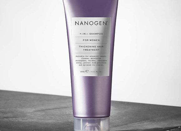 Nanogen 7-In-1 Thickening Shampoo for Women