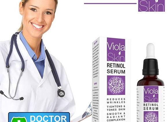 𝗣𝗥𝗘𝗠𝗜𝗨𝗠 Retinol Face Serum with Hyaluronic Acid & Vitamin E, Anti Aging S