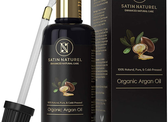 ORGANIC Argan Oil Vegan, Cold-Pressed + 100 % Pure 100 ml