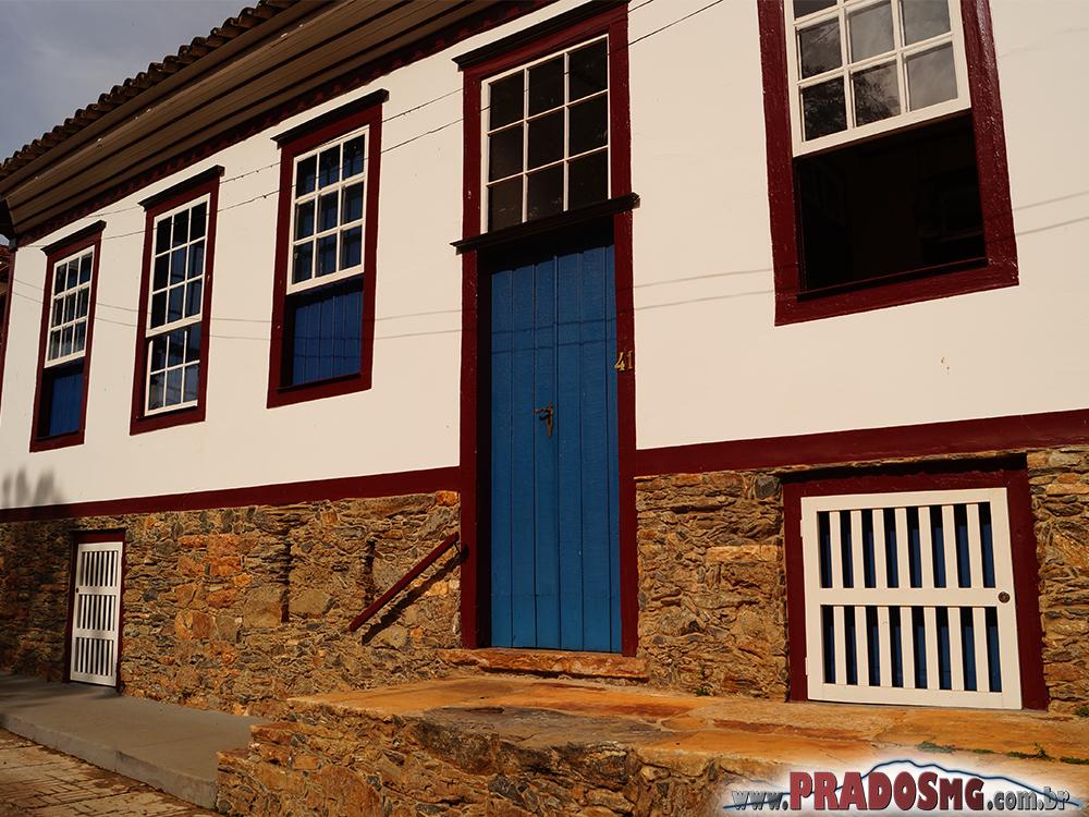 Casa da família do Sr. Itamar