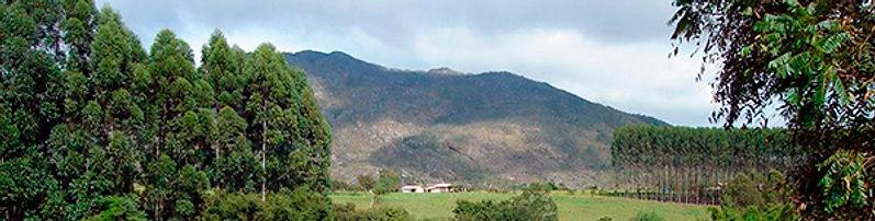 Serra de São José ao fundo