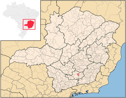 Localização do Município em Minas
