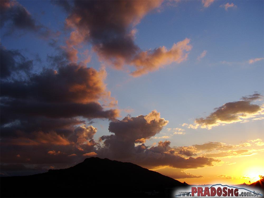 Pôr do sol na Serra de São José