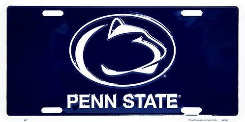 Penn State Logo License Plate