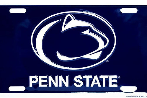 PennState Logo License Plate