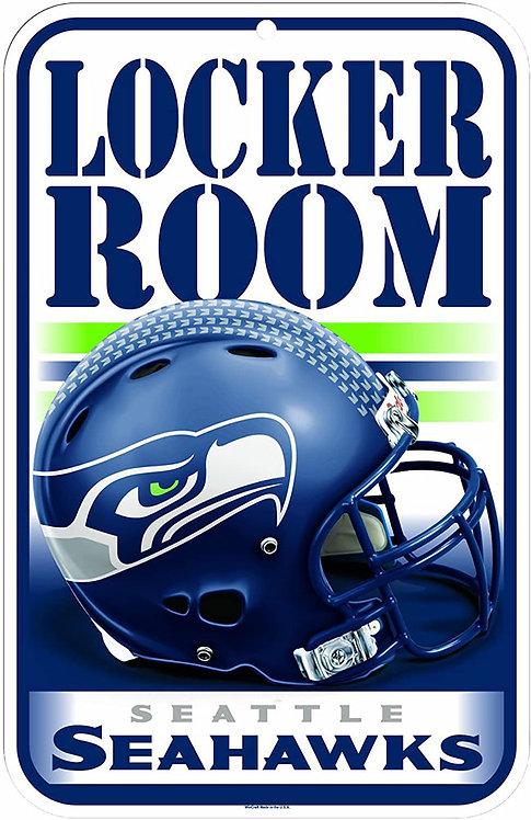 Seahawks Locker Room Sign