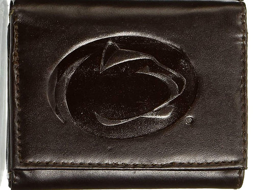 Penn State Tri-Fold Leather Wallet