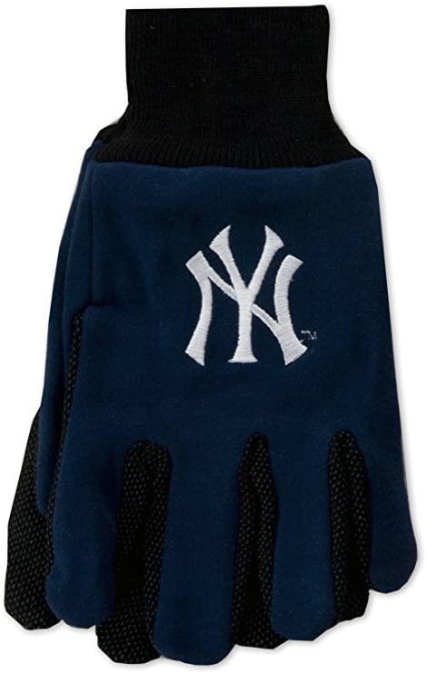 Yankees Adult 2-Tone Gloves