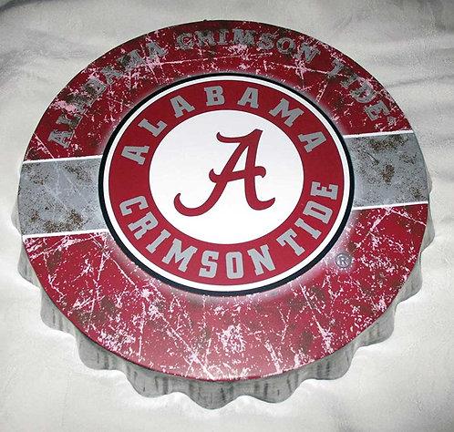 Alabama Bottle Cap Sign