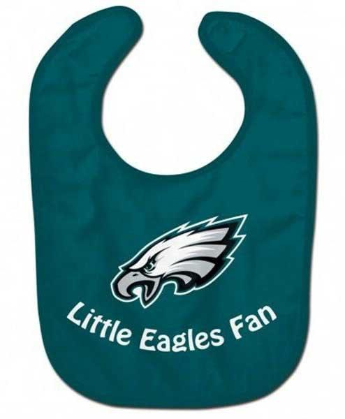 Eagles Baby Bib Green