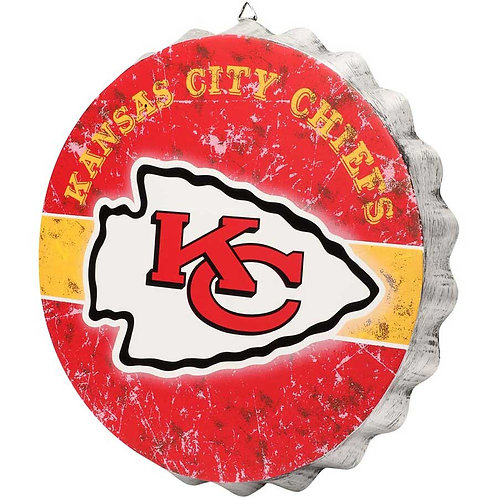 Chiefs Bottle Cap Sign