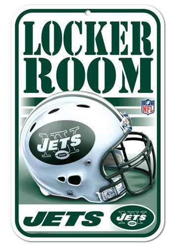 Jets Locker Room Sign