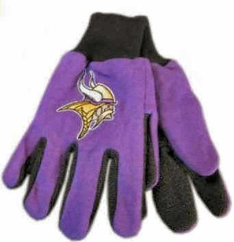 Vikings Kids 2-Tone Gloves