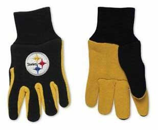Steelers Kids 2-Tone Gloves