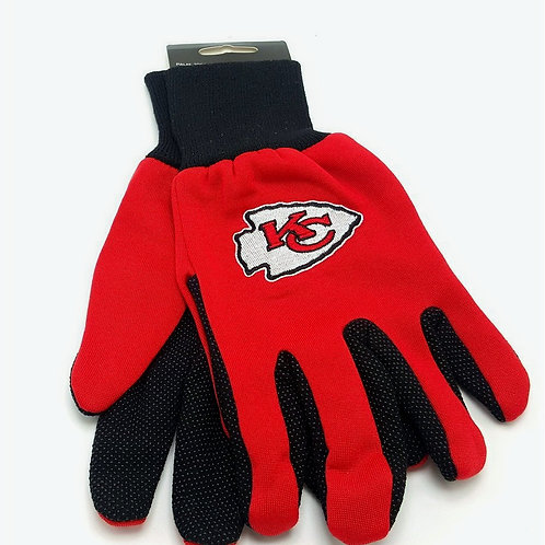 Chiefs Adult 2-Tone Gloves
