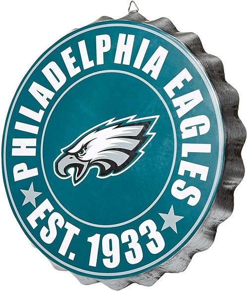 Eagles Bottle Cap Sign ~ Year Established