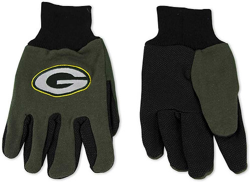Packers Adult 2-Tone Gloves