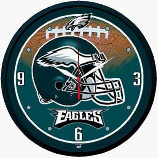 Eagles Round Clock