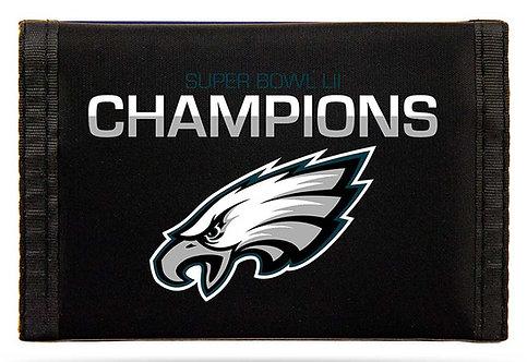 Super Bowl LII Eagles Tri-Fold Wallet