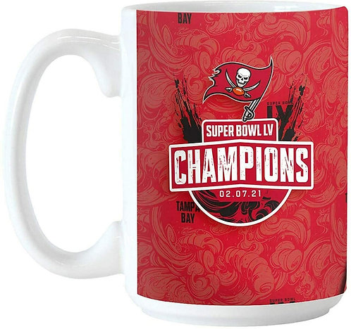 Super Bowl LV Buccaneers Coffee Mug