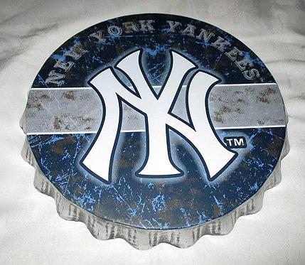 Yankees Bottle Cap Sign