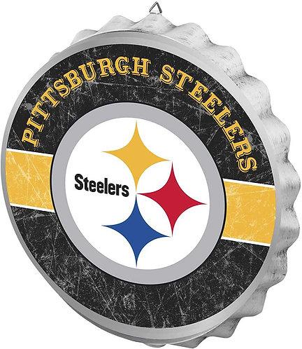 Steelers Bottle Cap Sign
