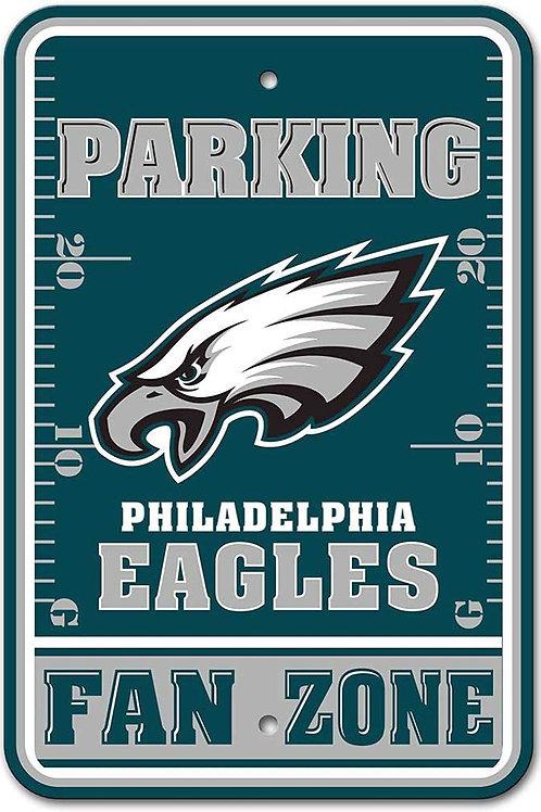 """Eagles """"Fan Zone"""" Parking Sign"""