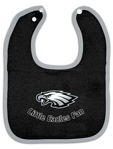 Eagles Baby Bib Black