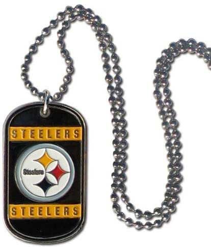 Steelers Dog Tag Necklace