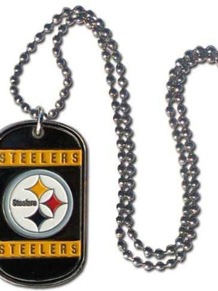Steelers Tag Necklace