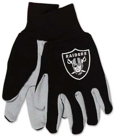 Raiders Adult 2-Tone Gloves