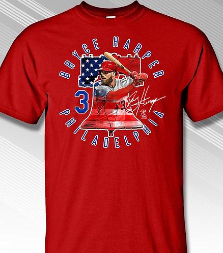 Phillies Harper T-Shirt Liberty Bell
