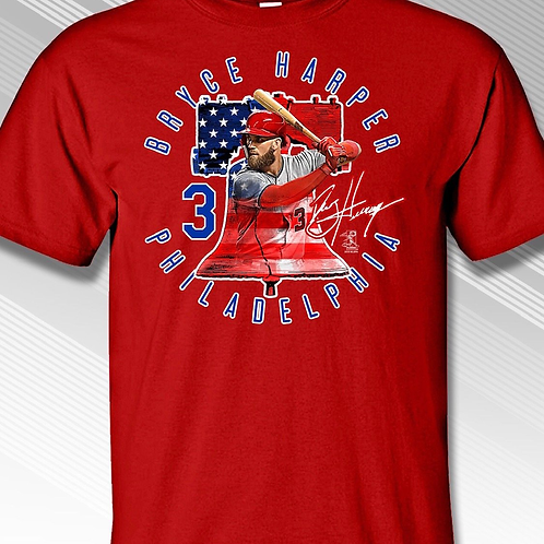 Phillies Harper T-Shirt Liberty Bell