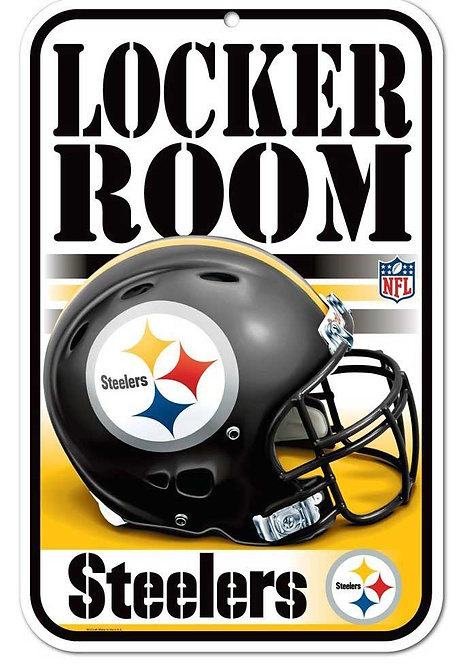 Steelers Locker Room Sign