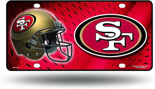 49ers License Plate