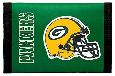 Packers Tri-Fold Nylon Wallet