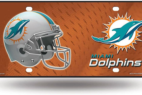 Dolphins License Plate