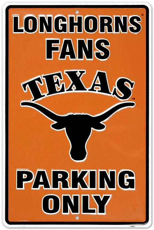 University of Texas Parking Sign