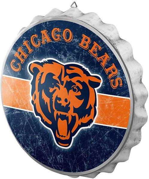Bears Bottle Cap Sign